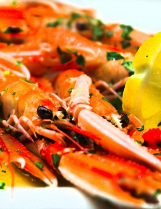 Special Seafood Menu
