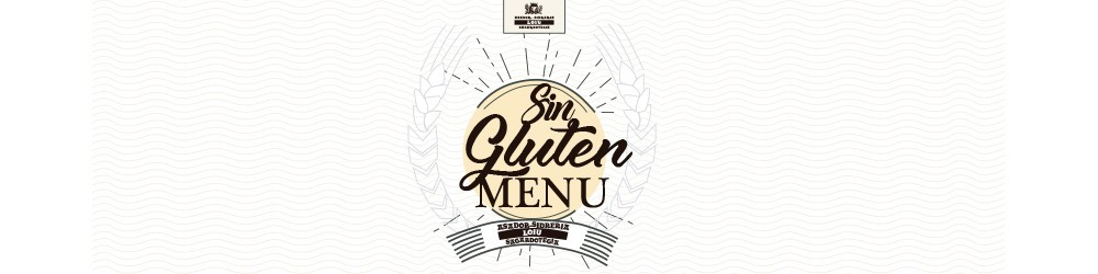 Menú especial Sin Gluten-Asador Sidrería Loiu-Fin de semana y festivos